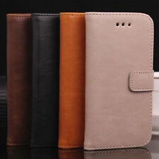 Vintage Luxury Leather Card Wallet Flip Stand Case Cover For Apple iPhone 5/5S