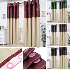 Top Sale Ring Top Made Curtains Eyelet Curtains Ring  Eyelet Ready 4 Colours