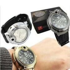 New Butane Gas Cigarette Cigar Lighter Refillable Wrist Watch For Business Men