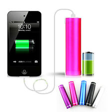 Power Bank Battery Charger Universal USB Backup Portable External Pack 2600mAh