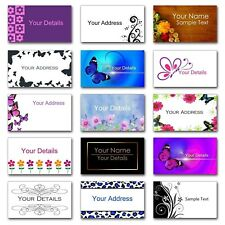 Personalised Mini Colour Stickers/Address Labels - 65 per sheet 38.1x21.2mm size