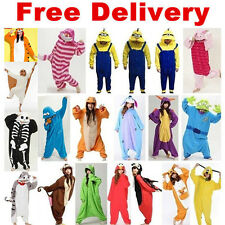 HOT Unisex Adult/Child Pajamas Kigurumi Cosplay Costume Animal Onesie Sleepwear