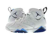 "Youth (PS) Air Jordan 7 Retro ""French Blue"" White/Blue 304778-107"
