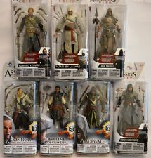Assassin's Creed Action Figures Series 2 and 3 Edward Kenway Connor Ah Tabai