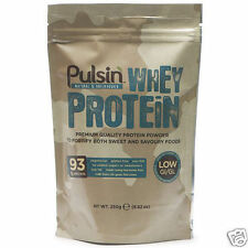 Pulsin Whey Protein Isolate 250g 1kg 1000g Powder 100% Pure Natural + FREE Deliv