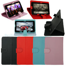 "Universal Adjustable PU Leather Stand Case Cover For Android Tablet 10"" 9"" 7"" US"
