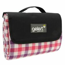 Gelert Park Camping Outdoors Leisure Trips Carry Handle Foldaway Picnic Rug New
