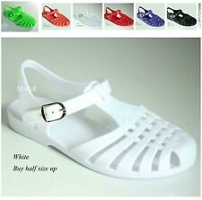 New ANG Women Gladiator Jelly Sandals Flats Flip Flops Slingback Shoes Size