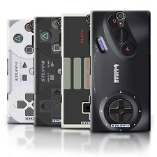 STUFF4 Back Case/Cover/Skin for Sony Xperia S/LT26i/Games Console