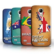 STUFF4 Back Case/Cover/Skin for Samsung Galaxy S4 Mini/Flag Nations