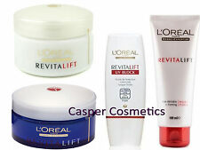 Loreal RevitaLift Day Night AntiWrinkle Cream Milky Foam or UV Green Makeup Base