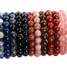 10MM Fashion Round Kinds Material Loose Beads Bracelets Jewelry Making Beads