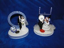 NEW INDIANAPOLIS COLTS BRIDE & GROOM WEDDING CAKE TOPPER, U PICK FROM 2 KINDS
