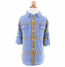 Tommy Hilfiger Children Boy Baby Toddler Long Sleeve Plaid Button-Down Shirt