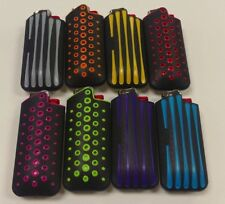MINI BIC LIGHTER CASE GRIPPER LIGHTER INCLUDED 8 COLORS
