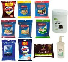 SWISH HOUSE,KITCHEN,BATHROOM,LEATHER SOFA CLEANING WIPES WET WIPES CHOOSE FROM!