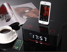 A8i NFC Bluetooth docking speaker Supported Radio Alarm Clock for iPhone/iPad UK