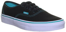 Vans Authentic Black Green Pop Trainers Size UK 4.5 - 5 Cheap Sale