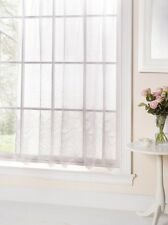 Veronica Net Lace Curtains, Ready Made Net Curtains. Many Sizes, White