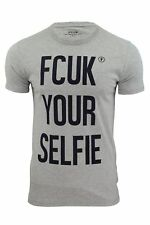 Mens T-Shirts by French Connection 'FCUK Your Self' Short Sleeved