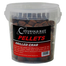 Cotswold Bait Drilled Crab Pellet 850g Various Diameters Match Coarse Fishing