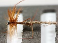 12 Daddy Long Legs Cranefly Gold Head Extended Trout Fishing Flies -Dragonflies