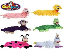 Cuddleuppets Childrens Cuddle Up Animal Blankets Hand Puppets Snuggle Pet Gift
