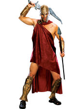 Adult 300 Movie Deluxe Spartan Warrior Costume Mens Halloween Fancy Dress Outfit