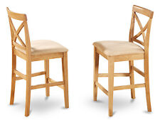 "East West Furniture 24"" Bar Stool Set of 2"
