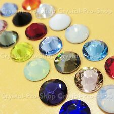 ss34 Genuine Swarovski ( NO Hotfix ) Crystal FLATBACK Rhinestone 34ss 7.2mm set7
