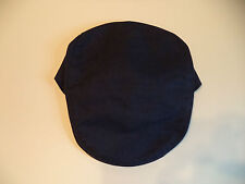 New Irish navy dark blue linen cap Hanna Hat S - XXL flat soft  Ireland Donegal