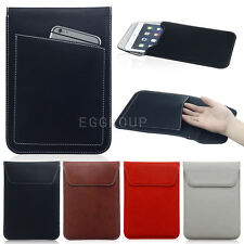 "New Leather Magnetic Sleeve Pouch Hand Bag Case For Most 7"" - 8"" Inch Tablet PC"