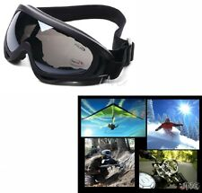 MULTI COLOR AVAILABLE - UV400 MOTORCYCLE SKI SNOWBOARD PAINTBALL SAFETY GOGGLES