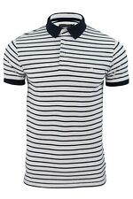 Mens Polo Shirt by FCUK/ French Connection Pique Stripe