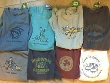 Life is Good Men's Crusher Short-Sleeve T-Shirts Many Patterns New MSRP $26