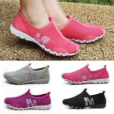 Women Athletic Fresh Ventilate Casual Gyms Walking Loafers Slip on Tennis Shoes