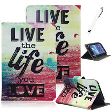 """Love the Life Universal PU Leather Case Cover For Android 7"""" 7.9'' 8'' Tablet PC"""