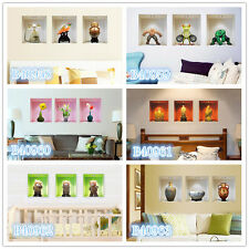 3D images 2# Home room Decor Removable Wall Sticker/Decal/Decoration