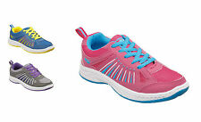 Ladies & Girls Sports Running Trainers Shoes Size 1 UK to 6 UK / 0415 L