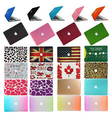 """Rubberized Matt Hard Frosted Case Cover For New MacBook Air Pro 11"""" 13"""" 15"""""""