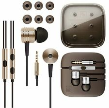 3.5mm Metal Piston Stereo In Ear Earphone Earbud W/Mic For iPhone Android Phone