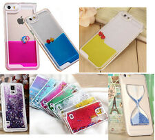 Dynamic Liquid Hourglass Glitter Paillette Quicksand Case Cover For Smart Phones