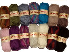 Twilleys Freedom Wool Knitting Crochet and Felting 100% Pure New wool 50g