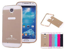 Slim Aluminum Bumper   PC Back Cover Case Skin Frame For Samsung Galaxy S4 I9500
