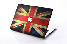 UK flag Laptop Rubberized Matte Hard Case Cover for MacBook AIR 11 13 /PRO13 15
