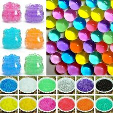 5500pcs Crystal Mud Soil Mud  Planting Flower Water Jelly Pearls Gel Beads Balls