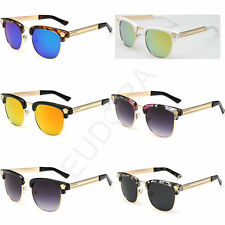 Classical Style Square Unisex Vintage Sunglasses Aviator Mens Women Sunglasses