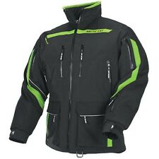 Arctic Cat Men's Boondocker Snowmobile Coat Jacket - Green - 5240-50_