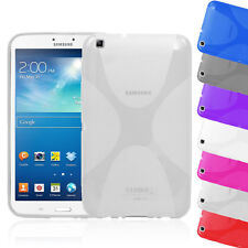 Soft Gel Skin TPU Case Back Cover for Samsung Galaxy Tab 3 8.0 T310 T311 P8200