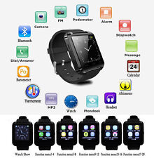 U8 Bluetooth Smart Wrist Watch Phone Mate For Android iPhone Samsung LG Sony HTC